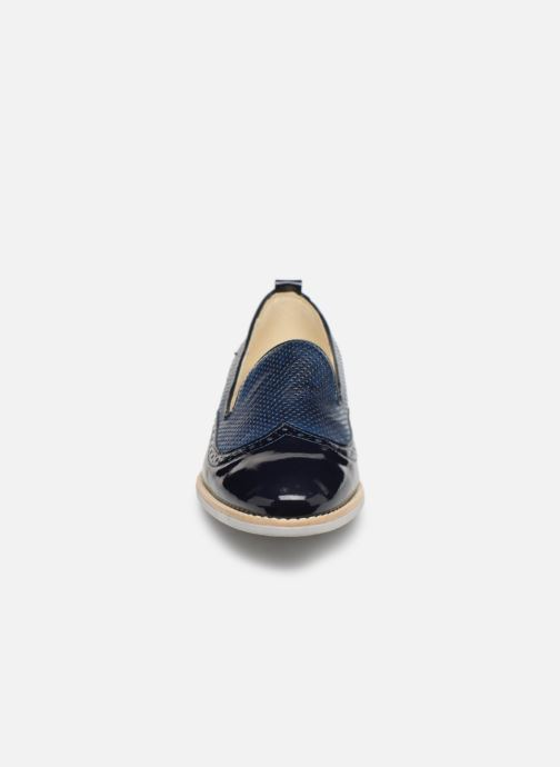 Loafers Georgia Rose Nirmala Blå bild av skorna på