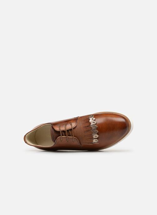 Chaussures à lacets Georgia Rose Nahema Marron vue gauche