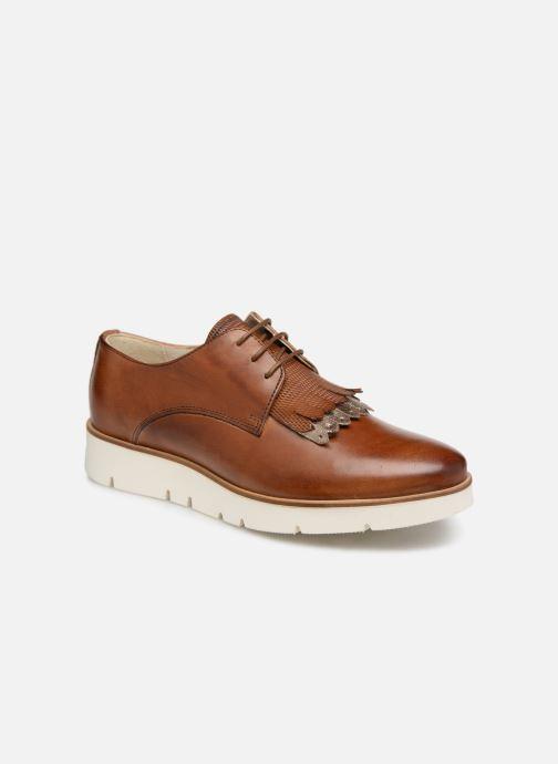 Chaussures à lacets Georgia Rose Nahema Marron vue détail/paire