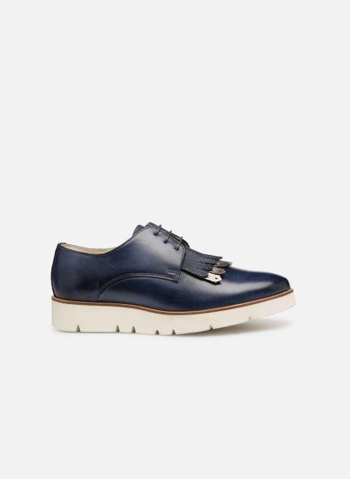 Zapatos con cordones Georgia Rose Nahema Azul vistra trasera