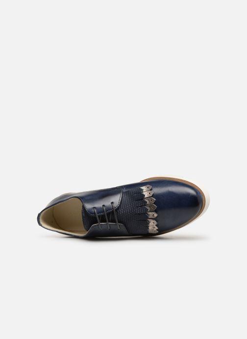 Chaussures à lacets Georgia Rose Nahema Bleu vue gauche
