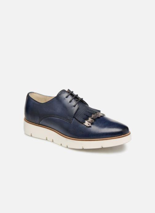 Chaussures à lacets Georgia Rose Nahema Bleu vue détail/paire