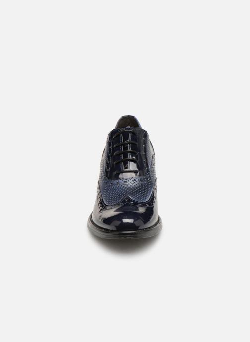 Chaussures à lacets Georgia Rose Noelly Bleu vue portées chaussures
