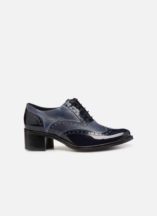 Chaussures à lacets Georgia Rose Noelly Bleu vue derrière