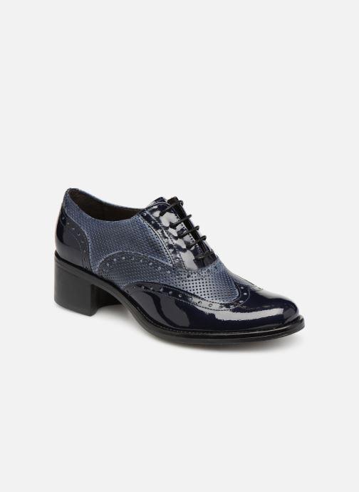 Chaussures à lacets Georgia Rose Noelly Bleu vue détail/paire