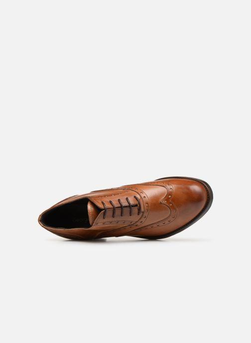 Chaussures à lacets Georgia Rose Noelly Marron vue gauche
