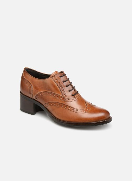 Chaussures à lacets Georgia Rose Noelly Marron vue détail/paire