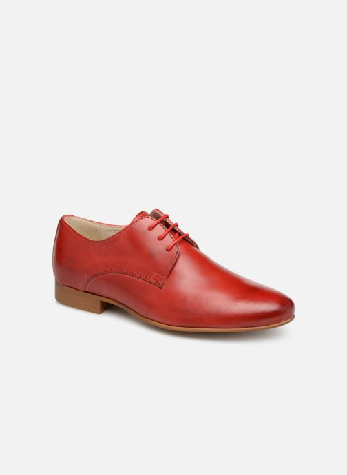 Lace-up shoes Georgia Rose Nyoko Red detailed view/ Pair view
