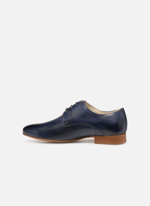 Zapatos con cordones Georgia Rose Nyoko Azul vista de frente