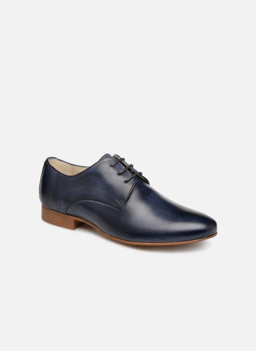 Zapatos con cordones Georgia Rose Nyoko Azul vista de detalle / par