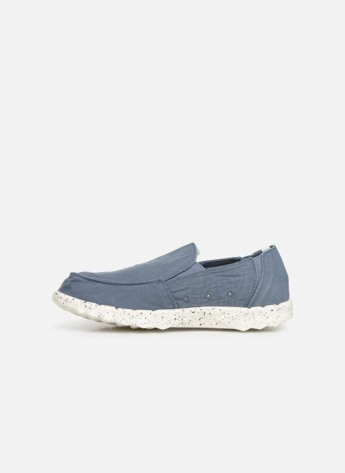 Sneakers DUDE Farty Washed Azzurro immagine frontale