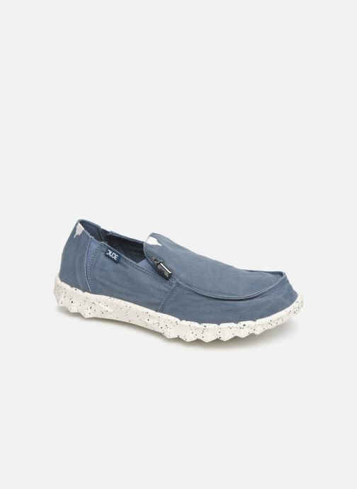 Deportivas DUDE Farty Washed Azul vista de detalle / par