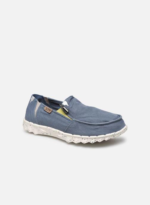 Sneaker DUDE Farty Washed blau detaillierte ansicht/modell