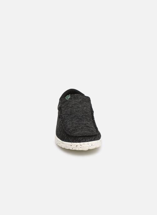 Baskets DUDE Mikka Sox Noir vue portées chaussures