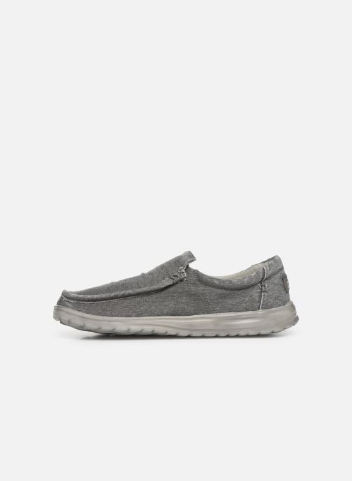 Baskets DUDE Mika Distressed Gris vue face
