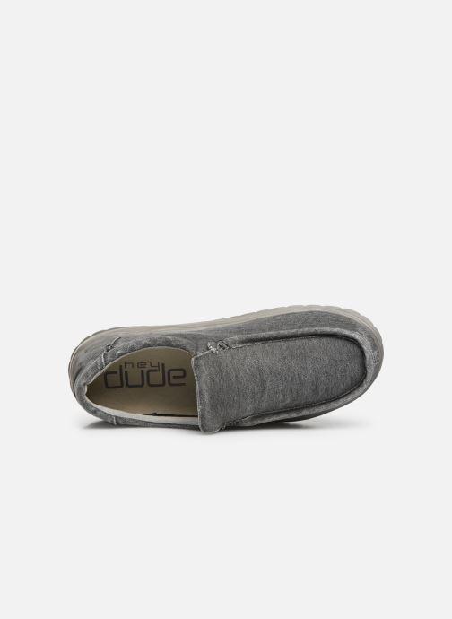 Sneakers DUDE Mika Distressed Grå bild från vänster sidan