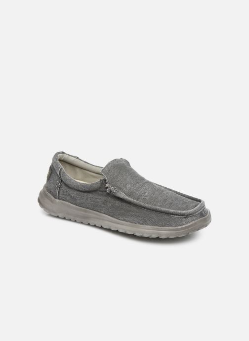 Trainers DUDE Mika Distressed Grey detailed view/ Pair view