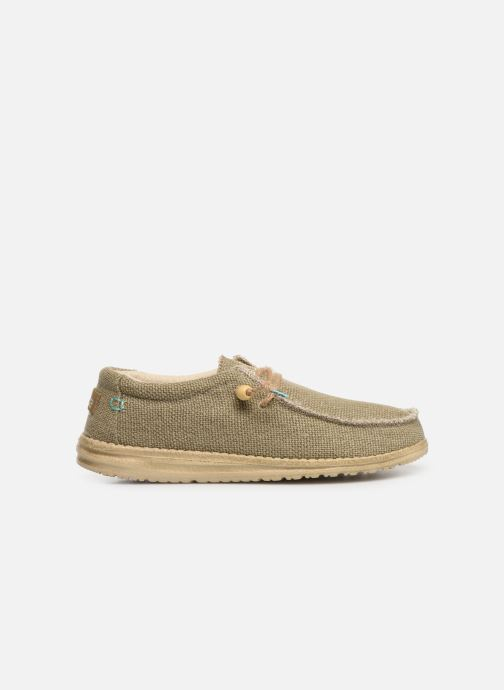Sneakers DUDE Wally Natural Groen achterkant