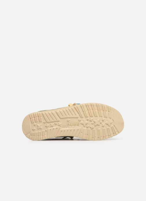 Sneakers DUDE Wally Natural Groen boven