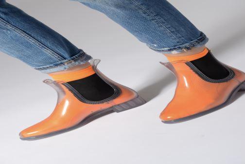Stiefeletten & Boots Lemon Jelly Tess 01 farblos ansicht von unten / tasche getragen
