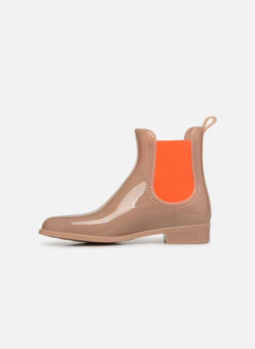 Ankle boots Lemon Jelly Pisa 31 Beige front view