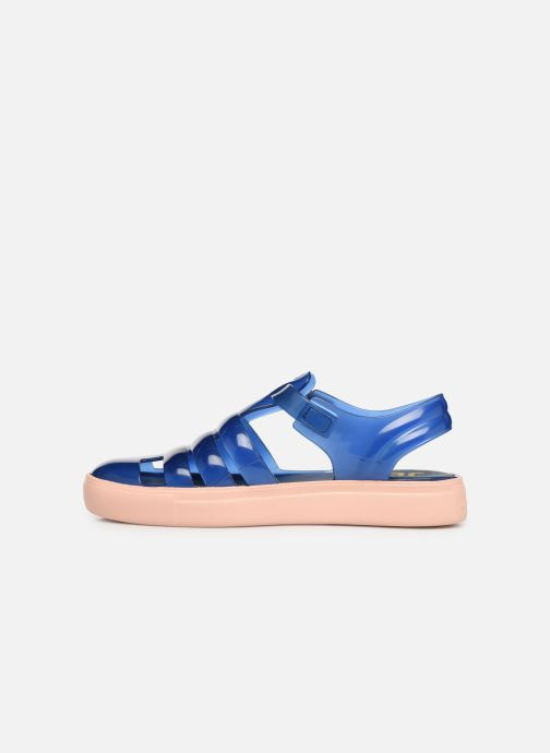 Sandalias Lemon Jelly Crystal 10 Azul vista de frente