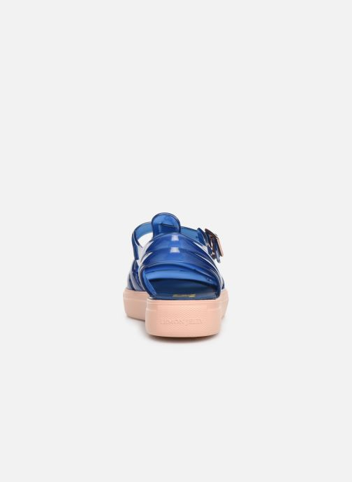 Sandalias Lemon Jelly Crystal 10 Azul vista lateral derecha