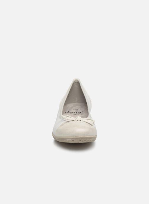 Ballerinas Jana shoes Emma weiß schuhe getragen