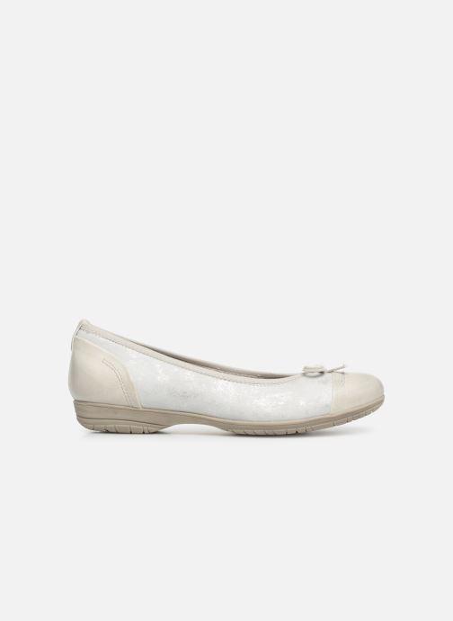 Ballerinas Jana shoes Emma weiß ansicht von hinten