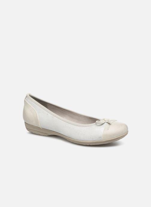 Ballerines Jana shoes Emma Blanc vue détail/paire