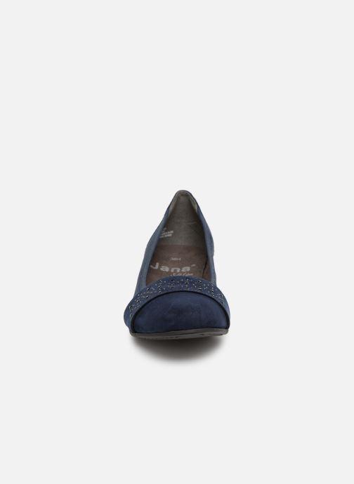 Ballerines Jana shoes Sarah Bleu vue portées chaussures