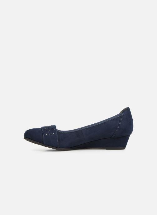 Ballerines Jana shoes Sarah Bleu vue face