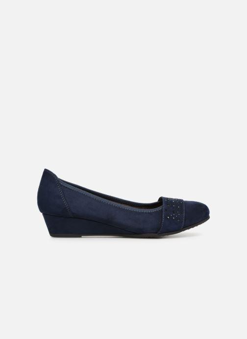 Ballerines Jana shoes Sarah Bleu vue derrière