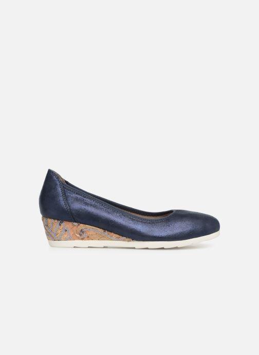 High heels Jana shoes Lina Blue back view