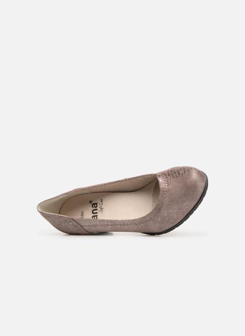 Escarpins Jana shoes Anna Rose vue gauche