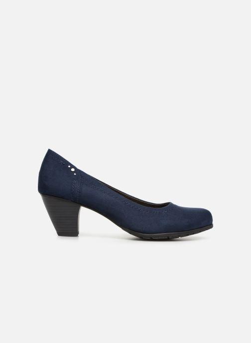 High heels Jana shoes Anna Blue back view