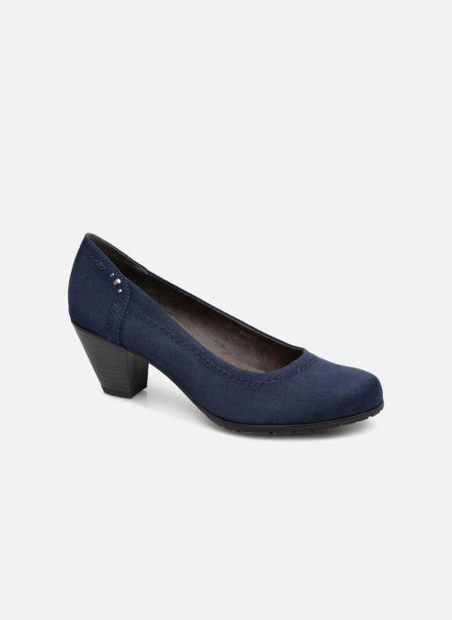 High heels Jana shoes Anna Blue detailed view/ Pair view