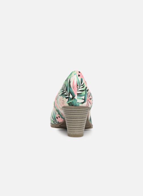 Escarpins Jana shoes Lucie Multicolore vue droite