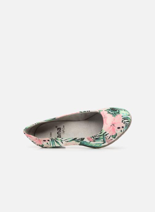 Escarpins Jana shoes Lucie Multicolore vue gauche