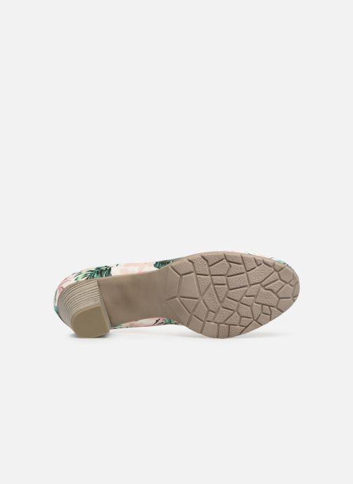 Escarpins Jana shoes Lucie Multicolore vue haut