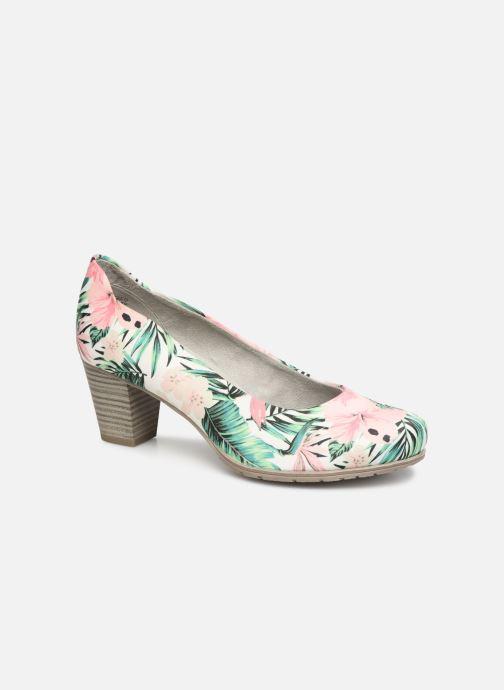 Escarpins Jana shoes Lucie Multicolore vue détail/paire