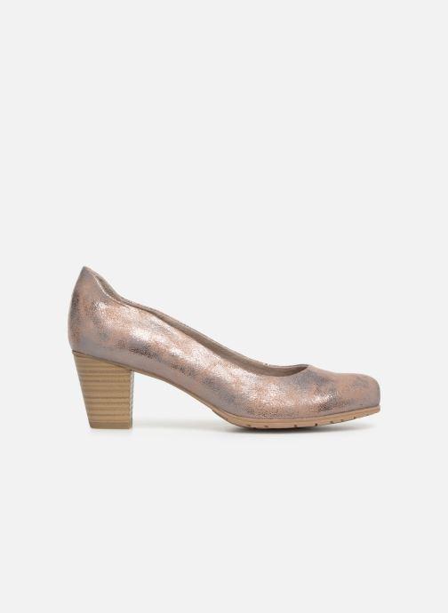 Pumps Jana shoes Lucie Goud en brons achterkant