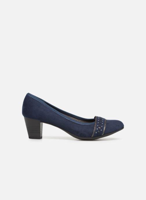 Pumps Jana shoes Maya Blauw achterkant