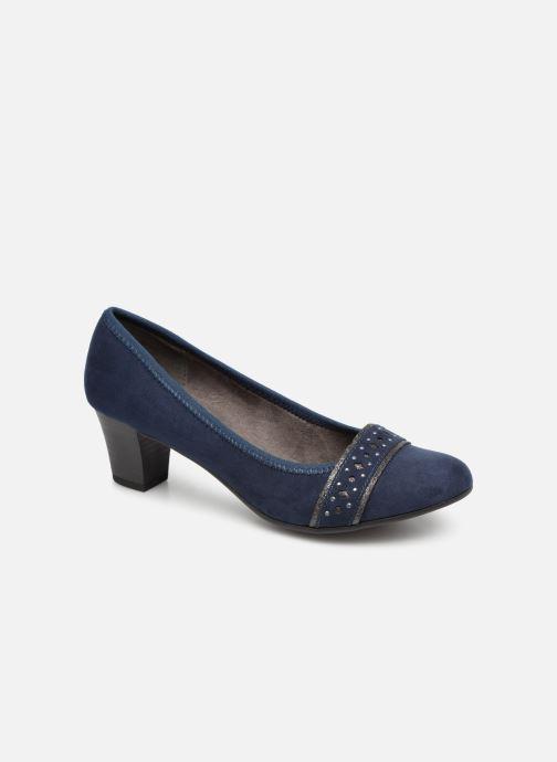 Escarpins Jana shoes Maya Bleu vue détail/paire
