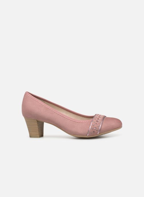 Zapatos de tacón Jana shoes Maya Rosa vistra trasera