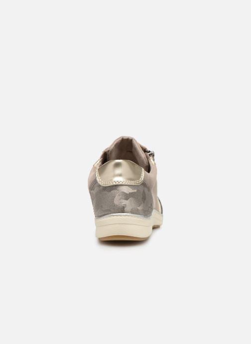Baskets Jana shoes Iris Beige vue droite