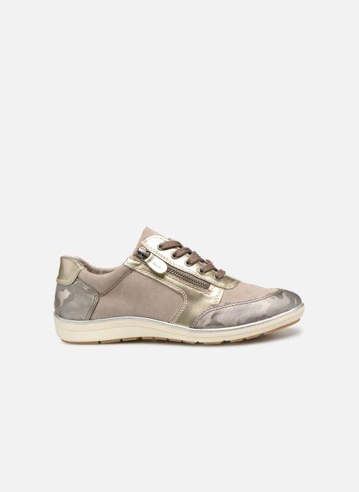 Baskets Jana shoes Iris Beige vue derrière