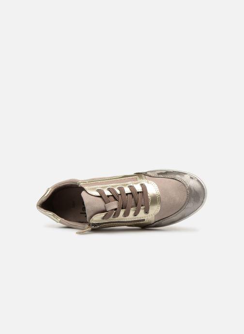 Baskets Jana shoes Iris Beige vue gauche