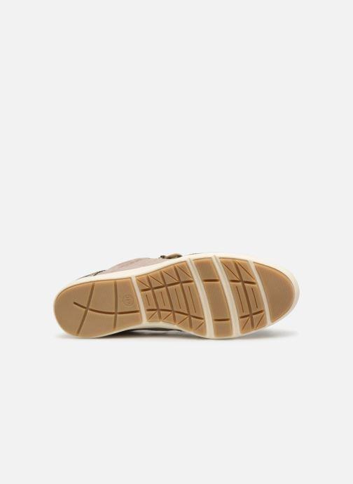 Baskets Jana shoes Iris Beige vue haut