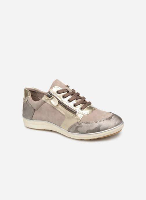 Baskets Jana shoes Iris Beige vue détail/paire